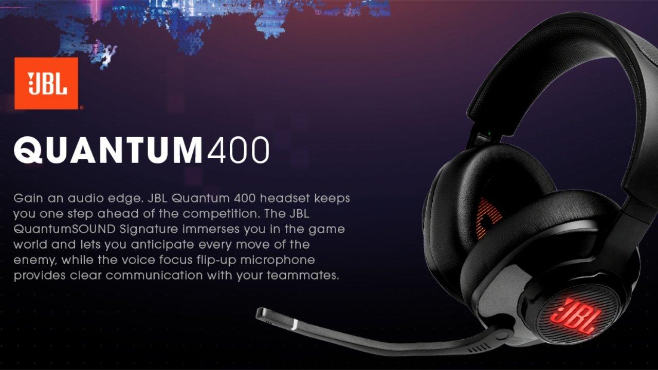 $20 off JBL Quantum 400 Gaming Headphones