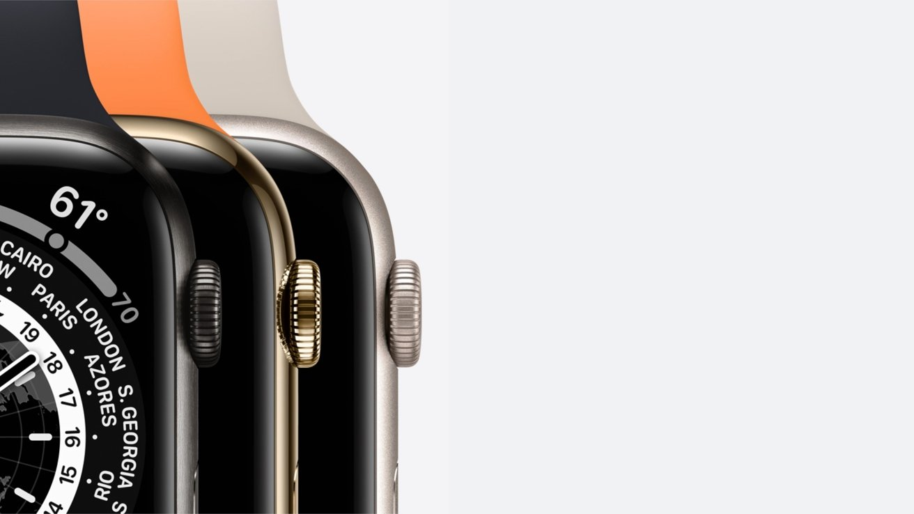 Case materials for Apple Watch Series 7