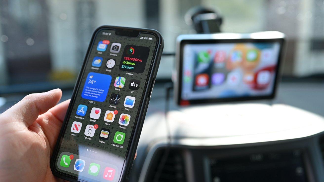 Running CarPlay wirelessly