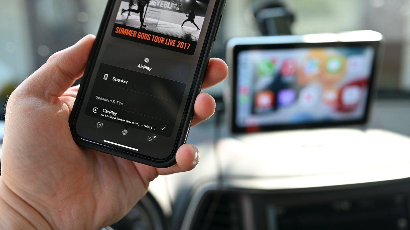 Wireless CarPlay is wonderful