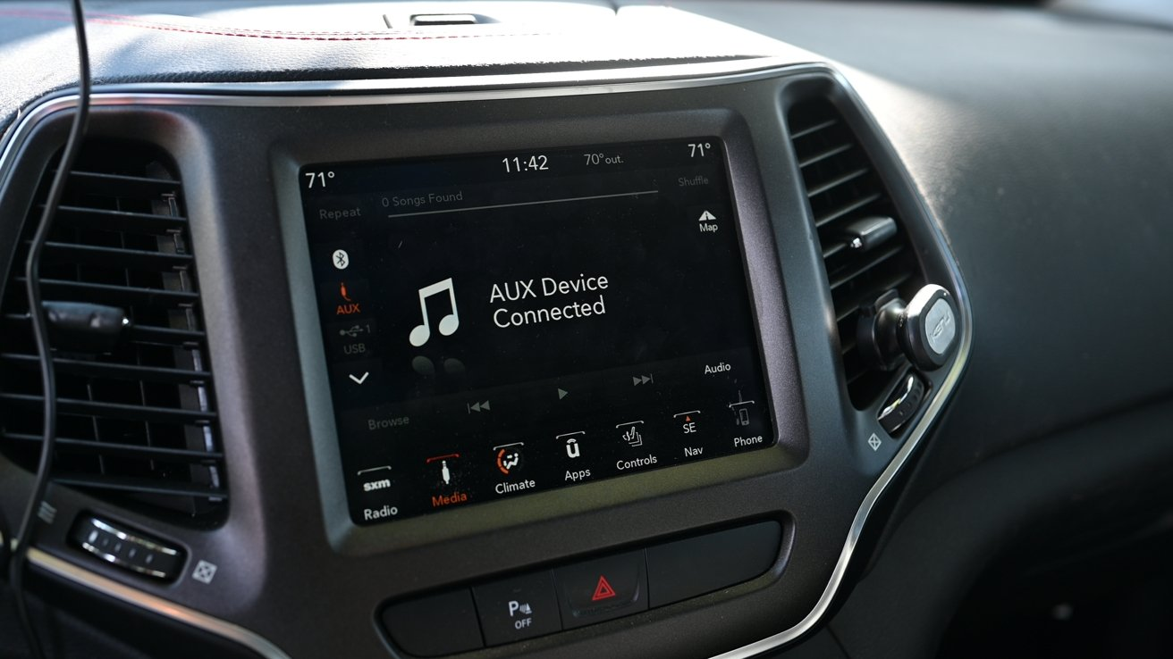 Connect to your car via aux or FM transmitter