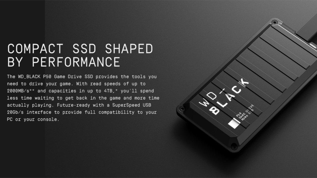 $200 off WD_BLACK 4TB SSD