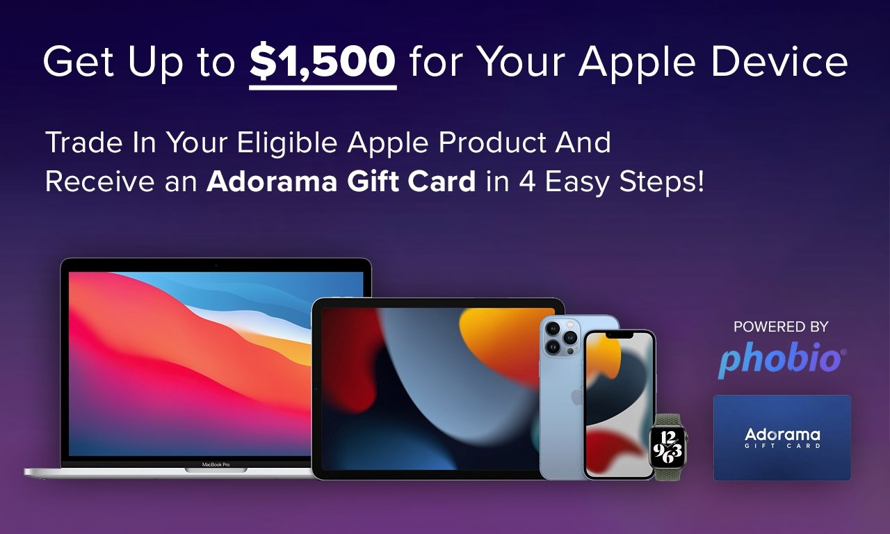 photo of Get up to $1,500 for your used Apple device ahead of new MacBook Pros image