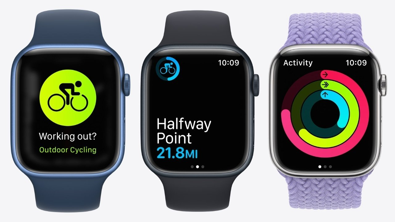 Fitness continues to be a big element of the Apple Watch