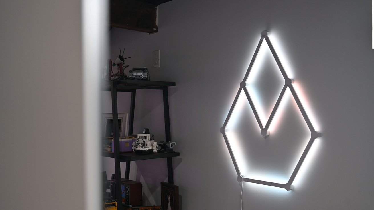Bright functional lighting with the Nanoleaf Lines