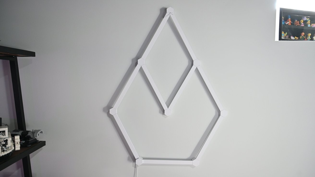 How Nanoleaf Lines look when turned off