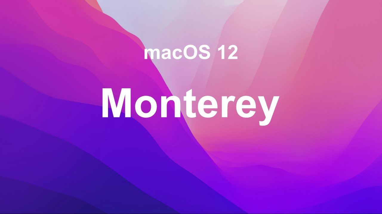 macOS Monterey Release Candidate 2 is now available for developers