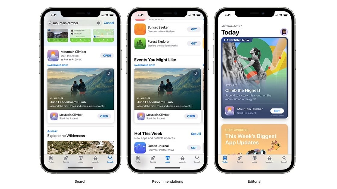 App Store in-app events are launching on Oct. 27