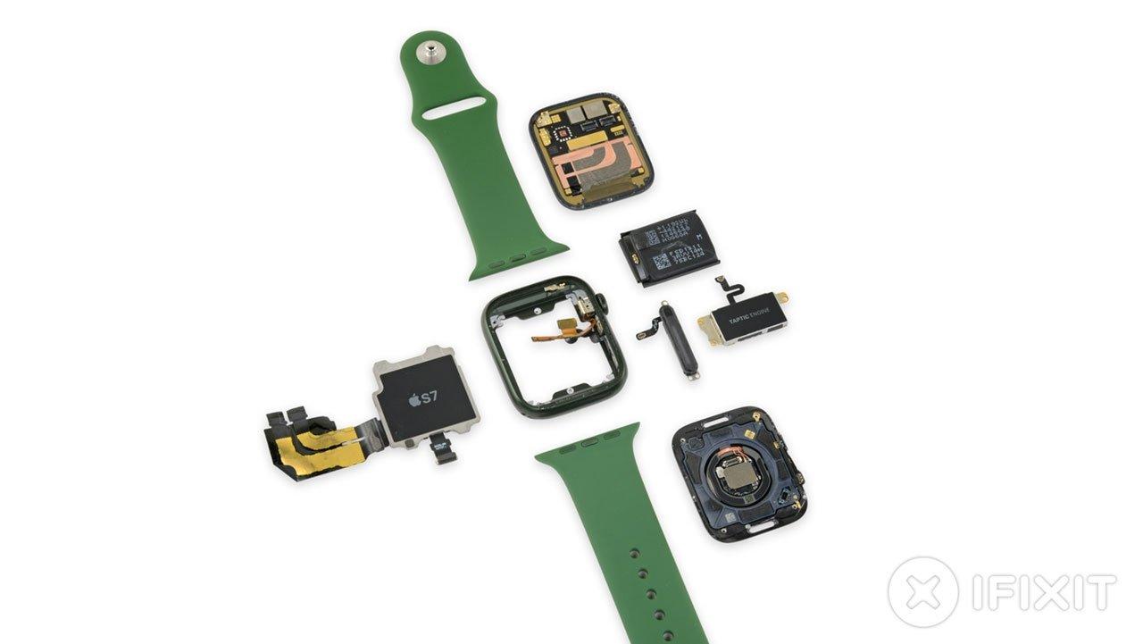 Apple Watch Series 7 teardown reveals big screen changes, minor battery upgrade