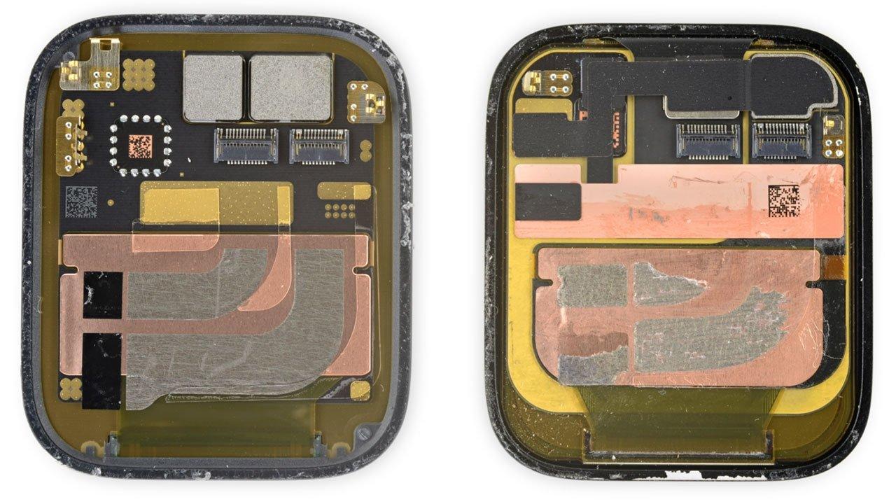 Apple Watch Series 7 Teardown Display Comparison