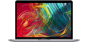2020 13-inch MacBook Pro in Space Gray