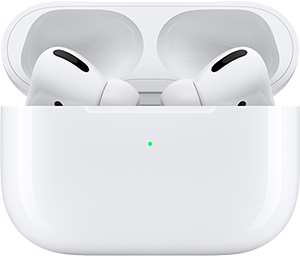 Apple AirPods Pro in wireless charging case