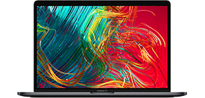 MacBook Pro 13-inch in Space Gray