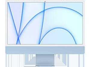 M1 iMac 24-inch in Blue