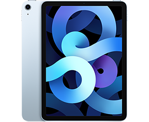 Lowest iPad Air 4 prices in new Sky Blue finish