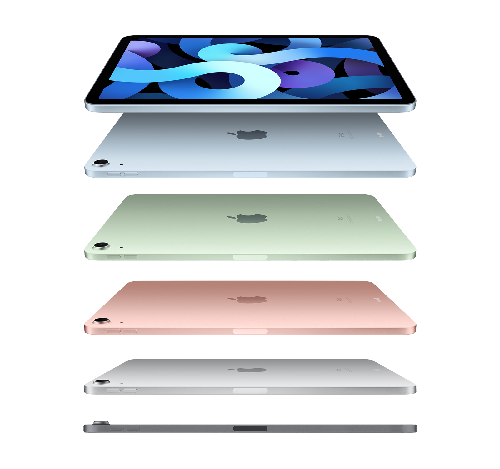 Best iPad Air 4 price in Sky Blue, Rose Gold, Green, Silver and Space Gray