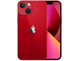 iPhone 13 mini in Red