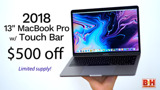 Killer deal: 2018 13-inch MacBook Pro on sale for $1,299