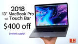 Top deal: 2018 13-inch MacBook Pro on sale for $1,399