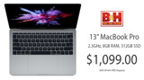 Apple's 13-inch MacBook Pro falls to $1,099