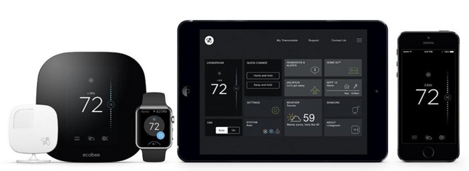 HomeKit ecobee3 thermostat ebay deal