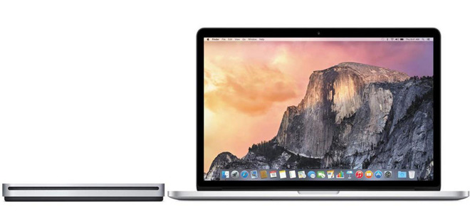 Free SuperDrive with MacBook Pro 15 inch