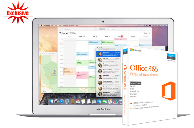Apple MacBook Air Office 365 deal