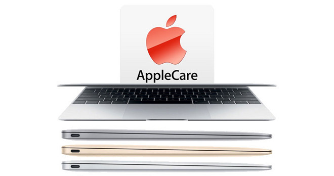 Apple MacBook 12 inch AppleCare deal