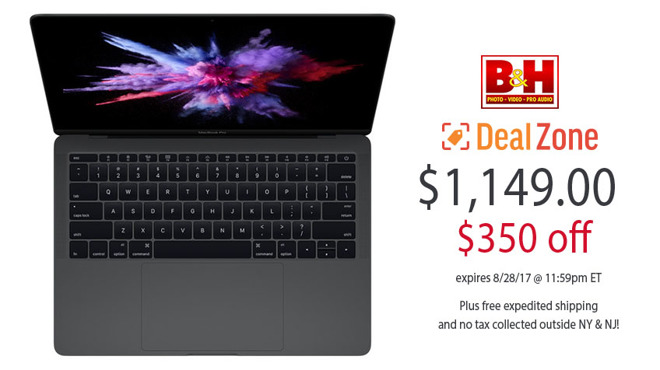 13 inch MacBook Pro Deal Zone